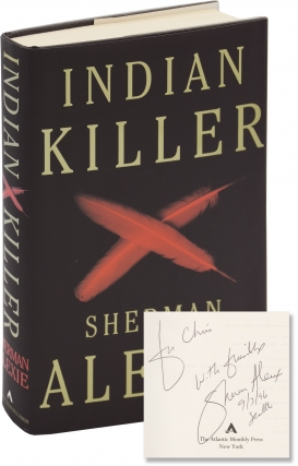 Indian Killer (First Edition, inscribed to author Chris Offutt). Sherman Alexie