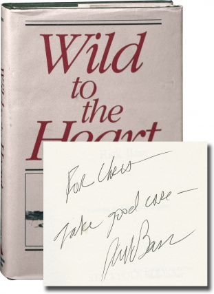 Wild to the Heart (First Edition, inscribed to author Chris Offutt). Rick Bass