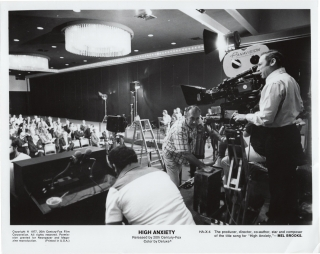 High Anxiety (Original photograph from the set of the 1977 film). Mel Brooks, Barry Levinson,...