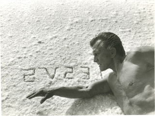 Spartacus (Original photograph on the set of the 1960 film). Stanley Kubrick, Howard Fast, Dalton...