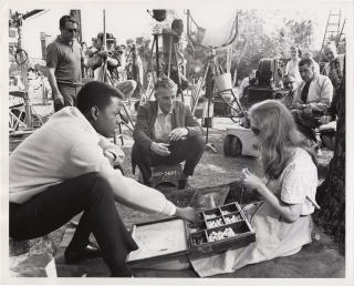 A Patch of Blue (Original photograph from the set of the 1965 film). Guy Green, Elizabeth Kata,...