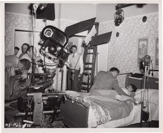 One Minute to Zero [The Korean Story] (Original photograph from the set of the 1952 film). Tay...