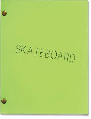 Skateboard (Original screenplay for the 1978 film). George Gage, Dick Wolf, Kathleen Lloyd Allen...