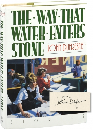 The Way That Water Enters Stone (First Edition, inscribed to fellow author Chris Offutt). John...