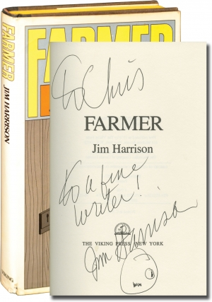 Farmer (First Edition, inscribed to fellow author Chris Offutt). Jim Harrison