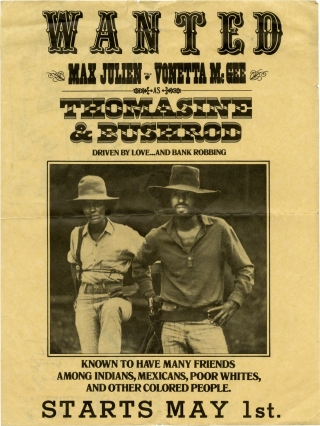 Thomasine and Bushrod (Original flyer for the 1974 film). Gordon Parks Jr., Max Julien, Vonetta...