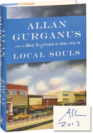 Local Souls: Novellas (First Edition, inscribed to fellow author Chris Offutt). Allan Gurganus