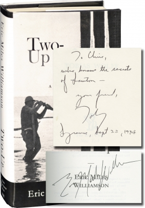 Two-Up (First Edition, inscribed to fellow author Chris Offutt). Eric Miles Wiliamson