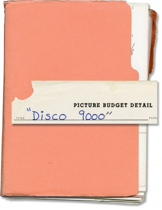 Disco 9000 (Original screenplay for the 1977 film, producer's working copy). D'Urville Martin,...