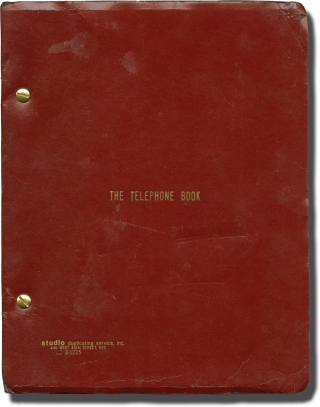 The Telephone Book (Original screenplay for the 1971 film). Nelson Lyon, Sarah Kennedy Jill...