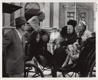 Lillian Russell (Original photograph from the set of the 1940 film). Irving Cummings, William...