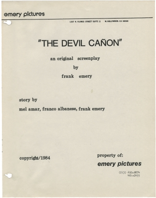 The Devil Canyon [The Devil Canon]