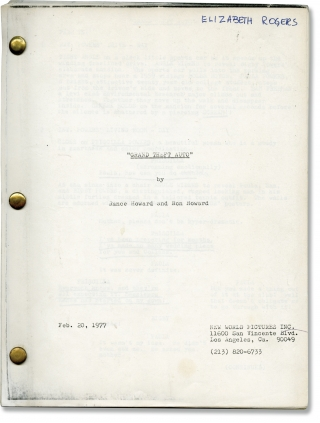 Grand Theft Auto (Original screenplay for the 1977 film). Ron Howard, Roger Corman, Rance Howard,...