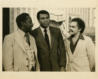 Original photograph of Muhammad Ali and Cassius Weathersby