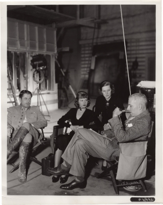 The Road to Glory (Two original photographs from the set of the 1936 film). Hawks Howard, William...
