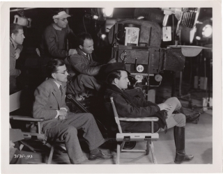 Hearts in Bondage [The Glory Parade] (Original photograph from set of the 1936 film). Lew Ayres,...