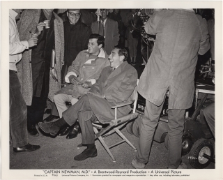 Captain Newman, M.D. (Original photograph from the set of the 1963 film). David Miller, Leo...