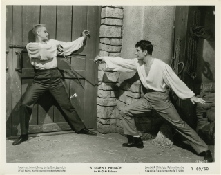 The Student Prince (Collection of 11 original photographs from rereleases of the 1954 film)....