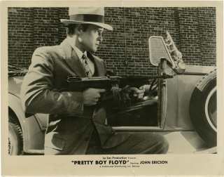 Pretty Boy Floyd (Collection of 20 original photographs from the 1960 film). Herbert J. Leder,...