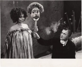 Satyricon [Fellini's Satyricon] (Original photograph from the set of the 1969 film). Federico...