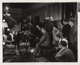 Private Number (Original keybook photograph from the set of the 1936 film). Roy Del Ruth, Cleves...