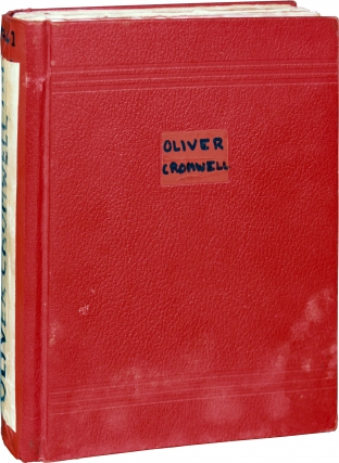Cromwell [Oliver Cromwell] (Original screenplay for the 1970 film). Ken Hughes, Alec Guinness...