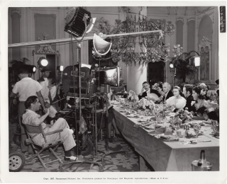 Wells Fargo (Original photograph from the set of the 1937 film). Frank Lloyd, Stuart N. Lake,...