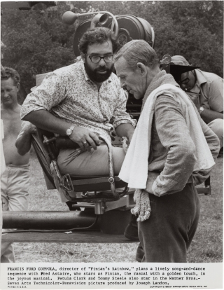 Finian's Rainbow (Two original photographs from the set of the 1968 film). Francis Ford Coppola,...