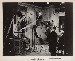 Prison [The Devil's Wanton] (Original photograph from the set of the 1949 film). Ingmar Bergman,...