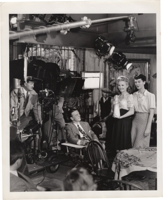My Sister Eileen (Original photograph from the set of the 1942 film). Alexander Hall, Ruth...