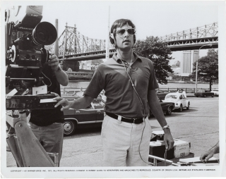The French Connection (Original photograph of William Friedkin on the set of the 1971 film)....