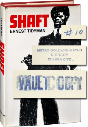 Shaft (First Edition, MGM vault file copy). Ernest Tidyman