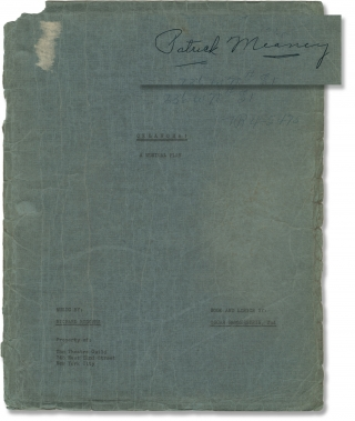 Oklahoma! (Original script for the 1943 Broadway musical). Richard Rodgers, Oscar Hammerstein II,...
