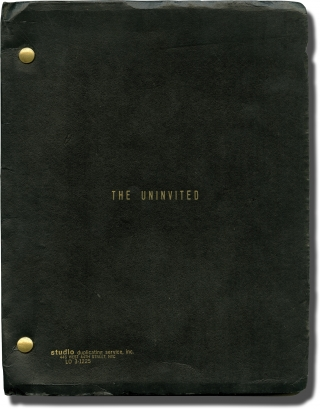 He Knows You're Alone [The Uninvited] (Original screenplay for the 1980 film). Armand...