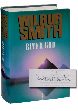 River God (Signed First Edition). Wilbur Smith