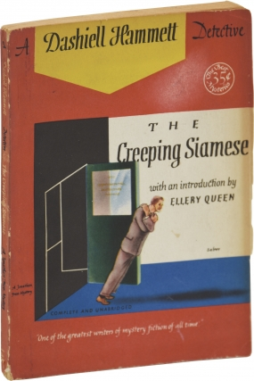 The Creeping Siamese (First Edition). Dashiell Hammett