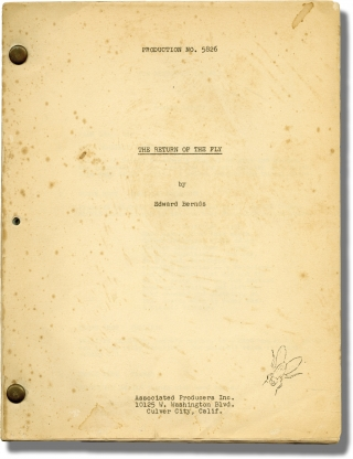 The Return of the Fly (Original screenplay for the 1959 film). Edward Bernds, George Langelaan,...