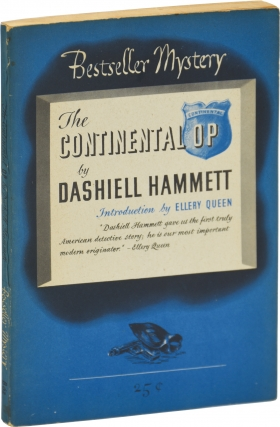 The Continental Op (First Edition). Dashiell Hammett