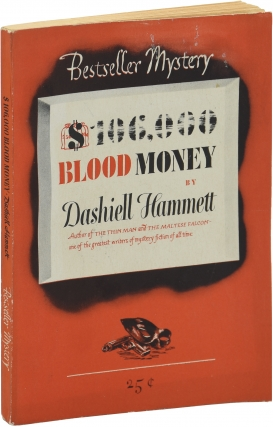 $106,000 Blood Money (First Edition). Dashiell Hammett
