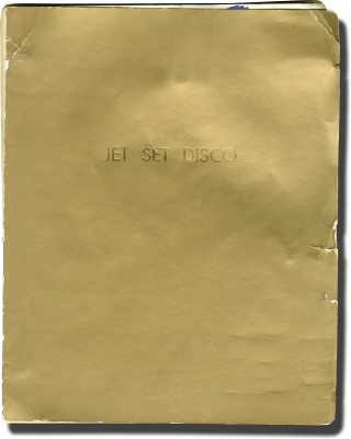 Jukebox [Jet Set Disco] (Original screenplay for the 1978 film). Lamar Card, John Arnoldy, George...