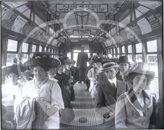 Trolleys of Boston and New York, circa 1902-1914
