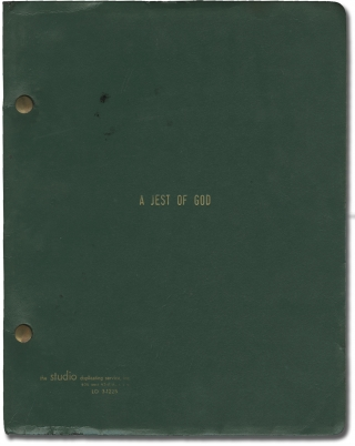 Rachel, Rachel [A Jest of God] (Original screenplay for the 1968 film, camera operator's copy)....