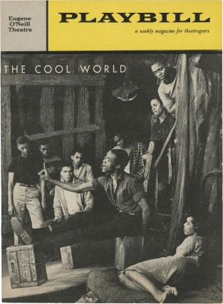 The Cool World (Original playbill for the 1960 play). Robert Rossen, Warren Miller, James Earl...
