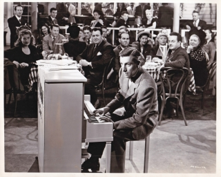 Night Song (Original photograph of Hoagy Carmichael from the 1947 film). Hoagy Carmichael, John...