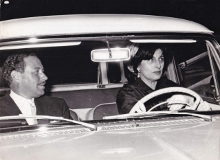 Original photograph of Tennessee Williams and Ana Magnani, 1960. Tennessee Williams, Anna...