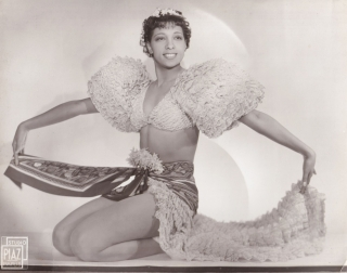"Original photograph of Josephine Baker in the opera ""La Creole"", circa 1934. Josephine Baker,..."