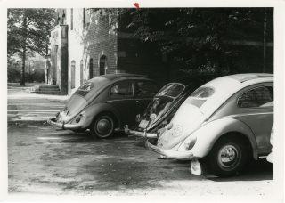 62 Vernacular Photographs from Germany, largely of Volkswagen Beetles