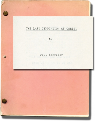 The Last Temptation of Christ (Original screenplay for the 1988 film). Martin Scorcese, Nikos...