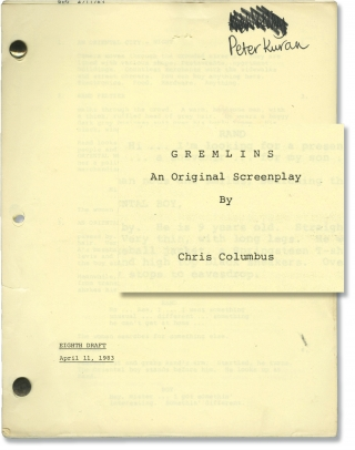 Gremlins (Original screenplay for the 1984 film). Joe Dante, Chris Columbus, Steven Spielberg,...