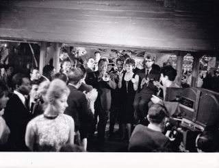 Paris Blues (Original photograph from the set of the 1961 film). Martin Ritt, Harold Flender,...